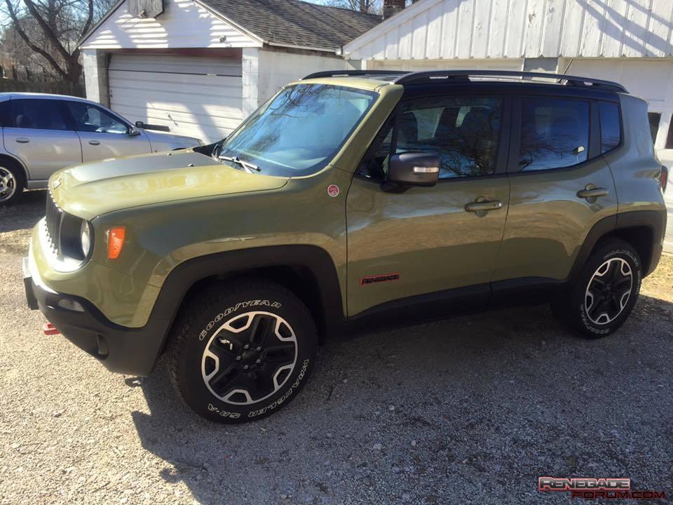 2015 Jeep Renegade Trailhawk Jeep Renegade Forum